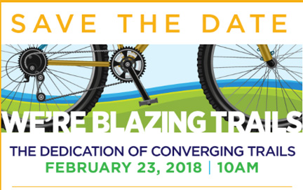 Dedication of Converging Trails February 23, 2018